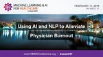 Using AI and NLP to Alleviate Physician Burnout