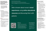 Nurses' Experiences and Perceptions of Using Online Resources for Patient and Family Education: A Qualitative Interview Study