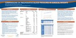 COMPARISONS OF PREOPERATIVE BLOOD PRESSURES IN SURGICAL PATIENTS by Brian Stacy and Kenn B Daratha