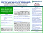 Differences in Perceived Patient Mobility Barriers Among Nurses from Various Departments and Location Work Sites by Teresa Bigand, Danell Stengem, Crystal Billings, Jennifer Hoople, Tiffanie Rampley, Elena Crooks, Nathaniel Nickerson, and Brandon Clem