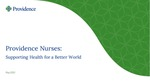 Providence Nurses: Supporting Health for a Better World