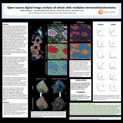 Open-source digital image analysis of whole-slide multiplex