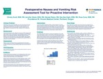 Postoperative Nausea and Vomiting Risk Assessment Tool for Proactive Intervention